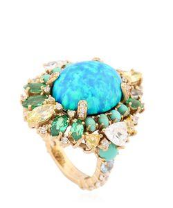 Anabela Chan | Opal Poseidon Gold Ring
