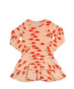 Mini Rodini | Mouse Cotton Jersey Dress