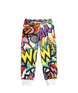 RICHMOND JUNIOR | Pop Art Printed Cotton Jogging Pants