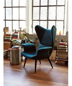 DIESEL LIVING | Longwave Wool Covered Armchair