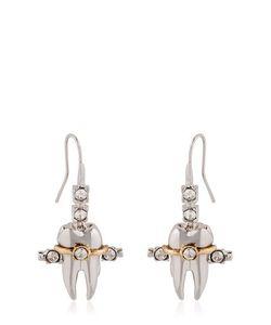 Schield | Teeth Braces Earrings