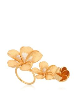 JADE JAGGER | Frangipani Flower Ring