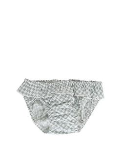 FILOBIO | Set Of 2 Cotton Poplin Swim Briefs
