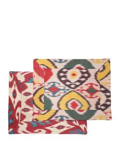 LES OTTOMANS | Set Of 2 Cotton Silk Placemats