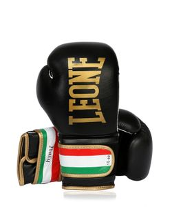 LEONE 1947 | 10oz Italy Printed Leather Boxing Gloves