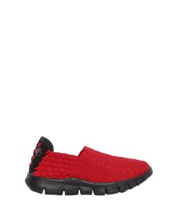 Bernie Mev. | Woven Elastic Bands Slip-On Sneakers