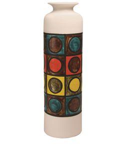 BITOSSI CERAMICHE | Geometric Tall Ceramic Vase