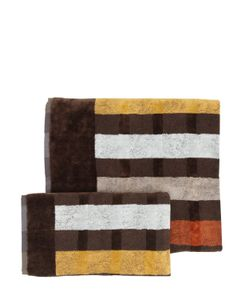 CARRARA | Stripes Set Of 2 Cotton Towels