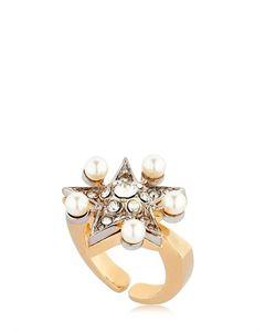 Schield | Star Line Ring W/ Swarovski Crystals