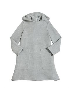 MOTORETA | Hooded Woven Dress