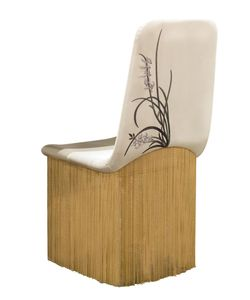 VISIONNAIRE | Peggy Chain Fringe Leather Chair