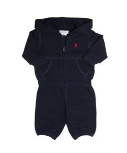 RALPH LAUREN CHILDRENSWEAR | Cotton Sweatshirt Jogging Pants