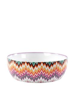 MISSONI BY RICHARD GINORI 1735 | Zig Zag Collection Salad Bowl