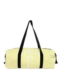 GAELLE PARIS | Logo Printed Cotton Duffel Bag