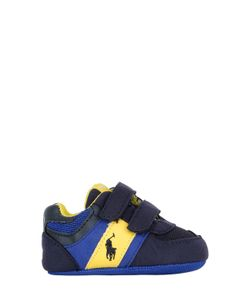 RALPH LAUREN CHILDRENSWEAR | Faux Suede Mesh Details Sneakers