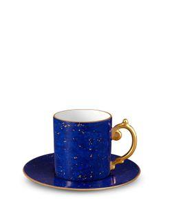 L'OBJET | Sous La Lune Espresso Cup Saucer
