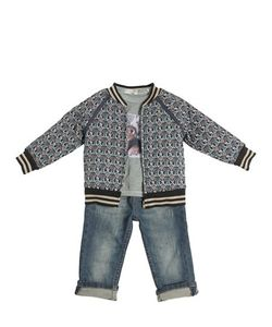 STICKY-FUDGE | Organic Cotton Jacket T-Shirt Jeans