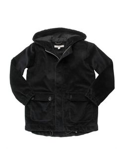 CARAMEL BABY AND CHILD   Cotton Corduroy Hooded Coat