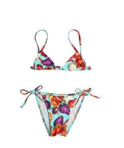 SELINI ACTION | Vegetables Printed Lycra Bikini