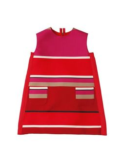 LANVIN PETITE | Striped Duchesse A Line Dress