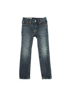 RALPH LAUREN CHILDRENSWEAR | Stretch Stonewashed Jeans