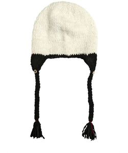 Péro | Wool Knit Hat With Tassels