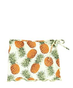 SELINI ACTION | Pineapple Printed Stretch Nylon Skirt