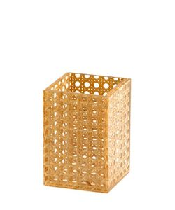 SPISANI | Rattan Acrylic Pen Holder