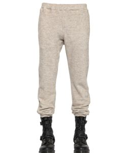08SIRCUS | Cotton Mohair Fleece Jogging Trousers