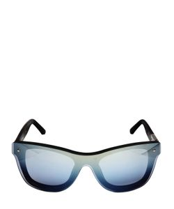 3.1 PHILLIP LIM X LINDA FARROW | Light Blue Mirror Lenses Sunglasses