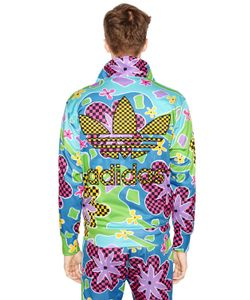 ADIDAS BY JEREMY SCOTT | Floral Printed Nylon Sweatshirt