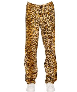 ADIDAS BY JEREMY SCOTT | Leopard Printed Techno Jogging Pants