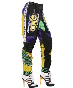 ADIDAS BY JEREMY SCOTT | Modal Twill Jersey And Mesh Trousers