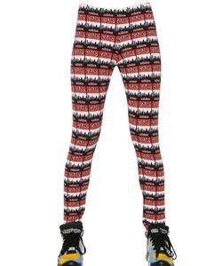 adidas Originals | Printed Stretch Cotton Jersey Leggings