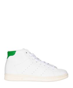 adidas Originals | Stan Smith Mid Top Leather Sneakers