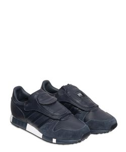 ADIDAS ORIGINALS BY HYKE | Hyke Micropacer Leather Sneakers