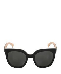 ADIDAS ORIGINALS BY ITALIA INDEPENDENT | Oversized Square Acetate Sunglasses