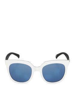 ADIDAS ORIGINALS BY ITALIA INDEPENDENT | Oversized Squared Acetate Sunglasses
