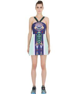 ADIDAS X MARY KATRANTZOU | Embellished Printed Mesh Dress