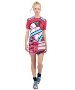 ADIDAS X MARY KATRANTZOU | Printed Techno Fleece T-Shirt