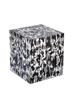 ADOLFO CARRARA | Camouflage Printed Accent Table