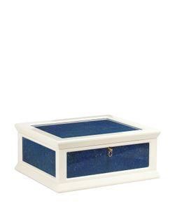 AGRESTI | Lapis Lazuli Wood Jewelry Box