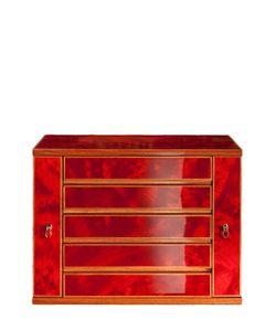 AGRESTI | Glossy Maple Wood Jewelry Box