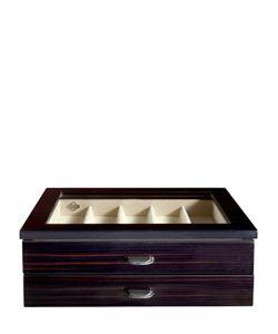 AGRESTI | Polished Ebony Wood Watch Case