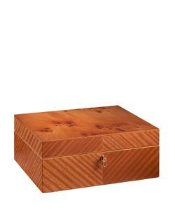 AGRESTI | Mahogany Elm Wood Mens Accessory Box