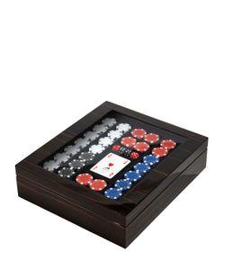 AGRESTI | Polished Ebony Wood Poker Set