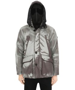 AI RIDERS ON THE STORM | Color Changing Ripstop Parka W/ Faux Fur