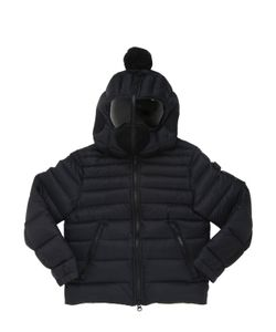 AI RIDERS ON THE STORM   Water Resistant Ripstop Down Jacket