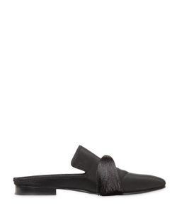 Aleksandersiradekian | Tasseled Silk Grosgrain Slippers