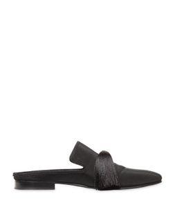Aleksandersiradekian | Tasseled Silk Grosgrain Slippers